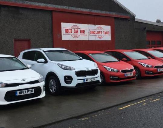 Bolts Car Hire benefits